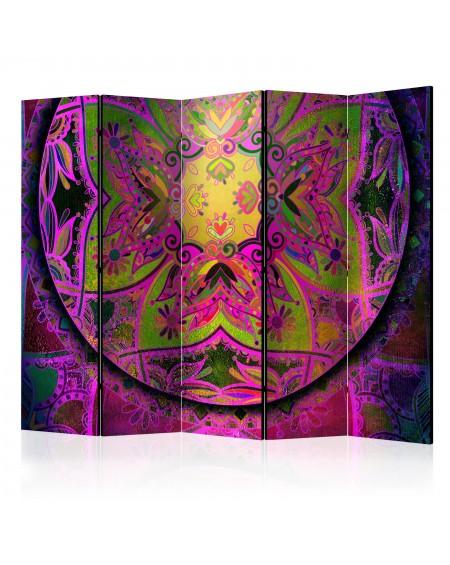 Španska stena Mandala Pink Expression II [Room Dividers]