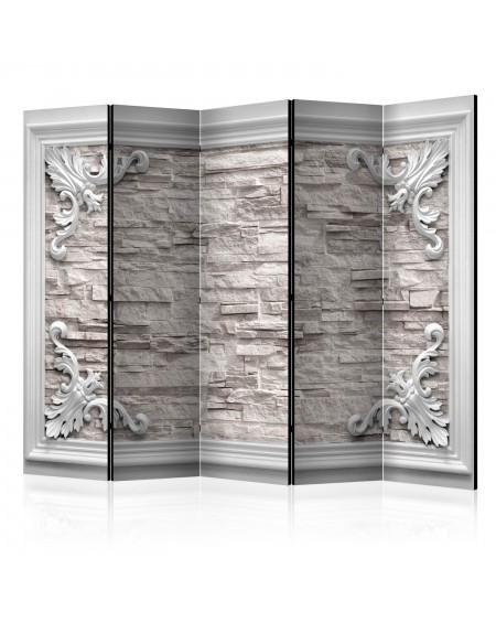 Španska stena Brick in the Frame (Beige) II [Room Dividers]