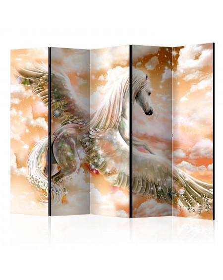 Španska stena Pegasus (Orange) II [Room Dividers]