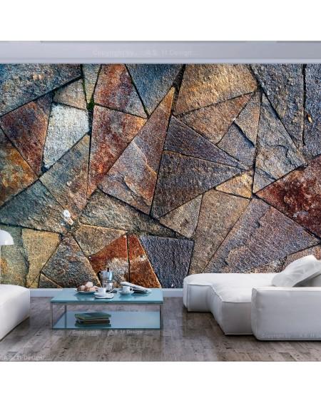 Samolepilna fototapeta Pavement Tiles (Colourful)
