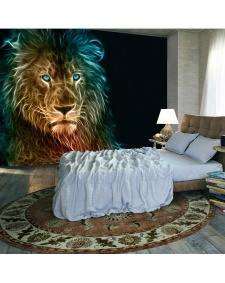 Samolepilna fototapeta Abstract lion