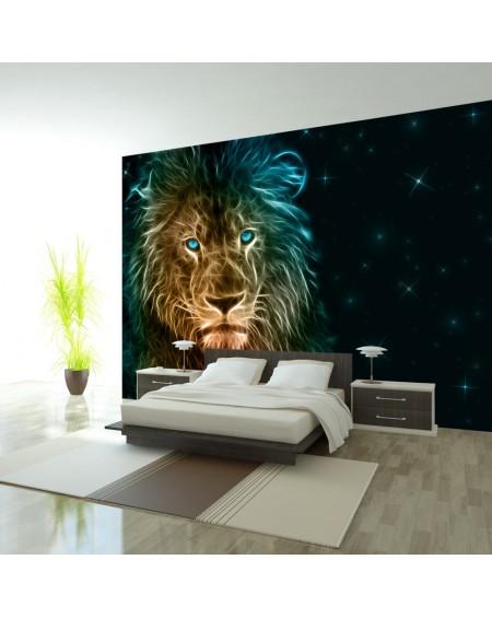 Samolepilna fototapeta Abstract lion...