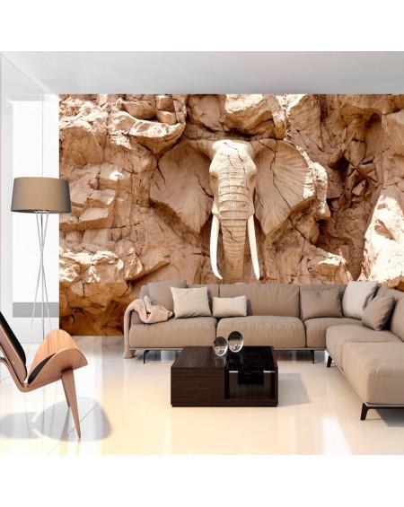 Samolepilna fototapeta Stone Elephant (South Africa)