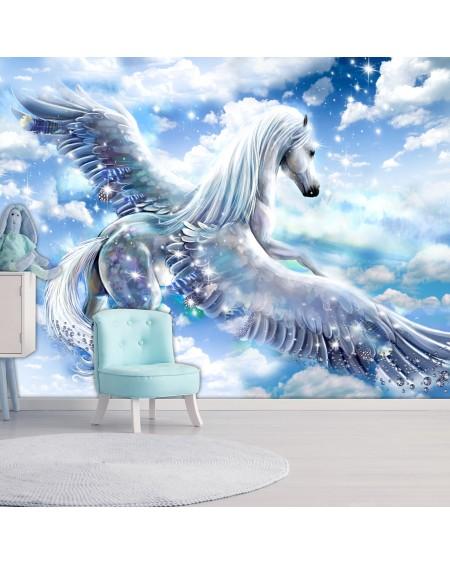 Samolepilna fototapeta Pegasus (Blue)