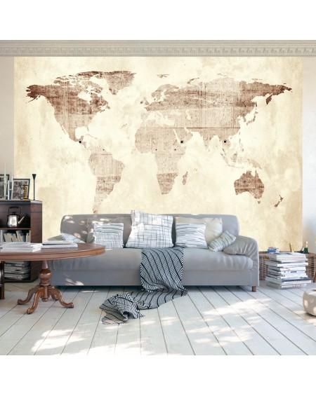 Samolepilna fototapeta Precious map