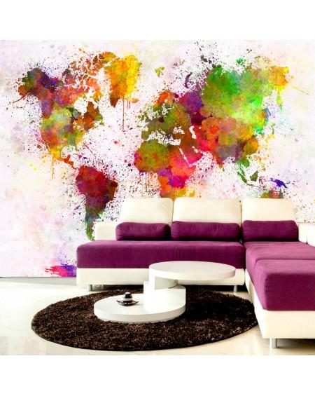 Samolepilna fototapeta Dyed World