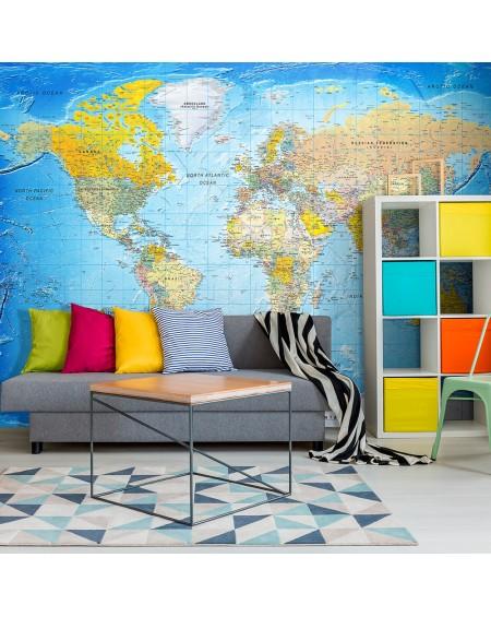 Samolepilna fototapeta World Classic Map