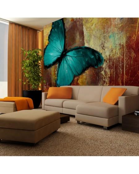 Stenska poslikava Painted butterfly