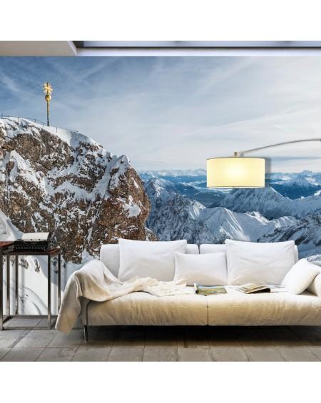 XXL stenska poslikava Winter in Zugspitze