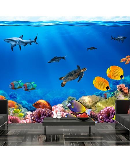 Stenska poslikava Underwater kingdom