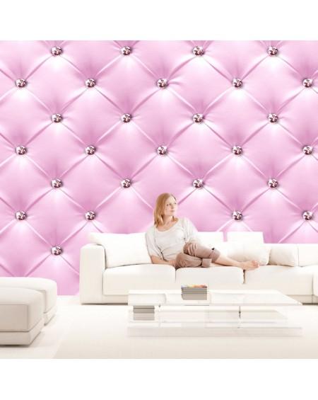 XXL stenska poslikava - Pink Elegance
