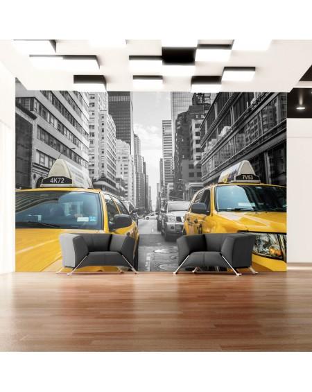 Stenska poslikava New York taxi