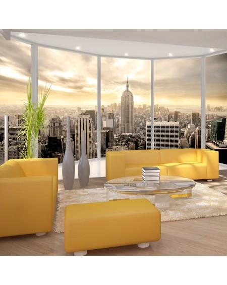 Stenska poslikava Sunny morning in New York City