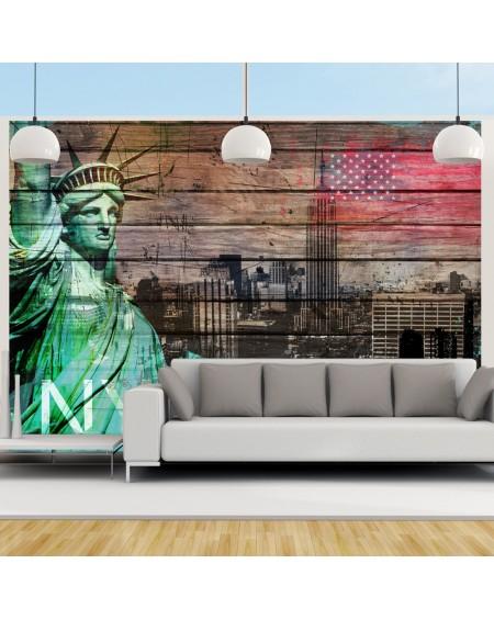 Stenska poslikava NYC symbols