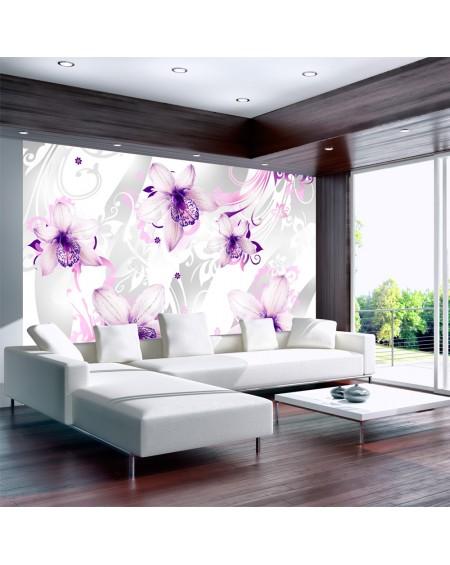 Stenska poslikava Sounds of subtlety violet