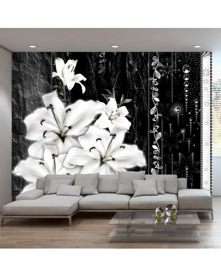 Stenska poslikava Crying lilies