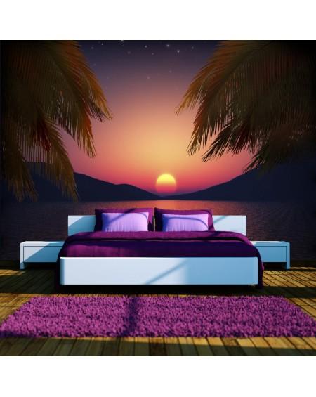 Stenska poslikava Romantic evening on the beach