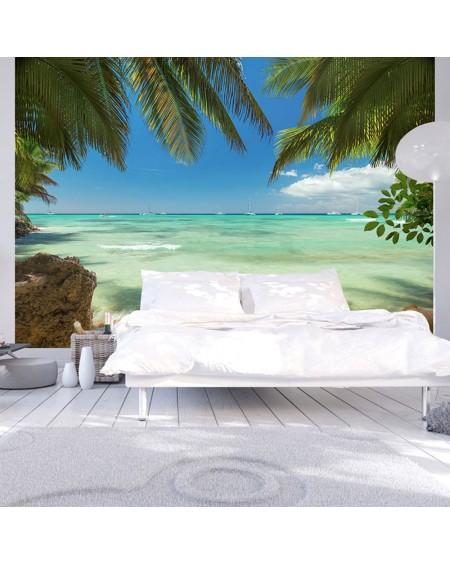 Stenska poslikava Relaxing on the beach