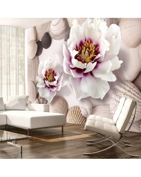 Stenska poslikava Flowers and Shells
