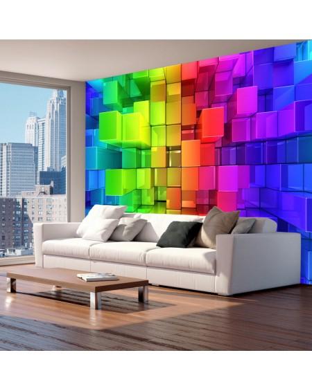 Stenska poslikava Colour jigsaw
